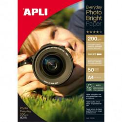 Fotopapier APLI A4 Bright 200g 50 hárkov