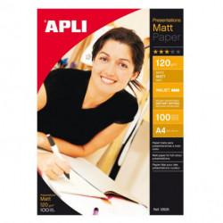 Fotopapier APLI A4 matný 120g 100 hárkov