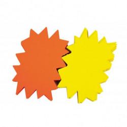 Popisovateľný farebný kartón ježko 24x32cm APLI mix žltá-oranžová