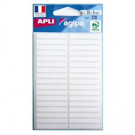 Etikety univerzálne 5x35mm APLI 7 hárkov