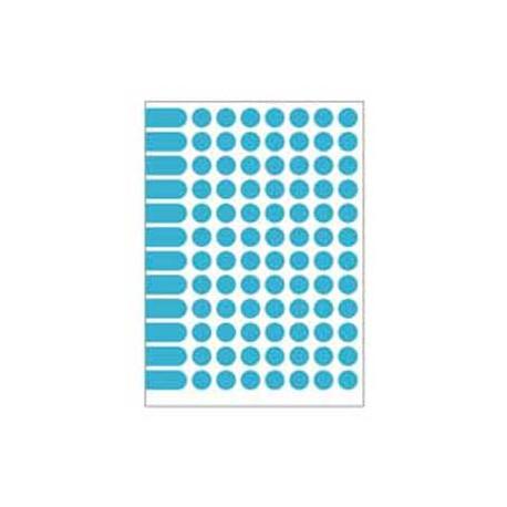 Etikety kruhové 15mm Agipa A5 modré