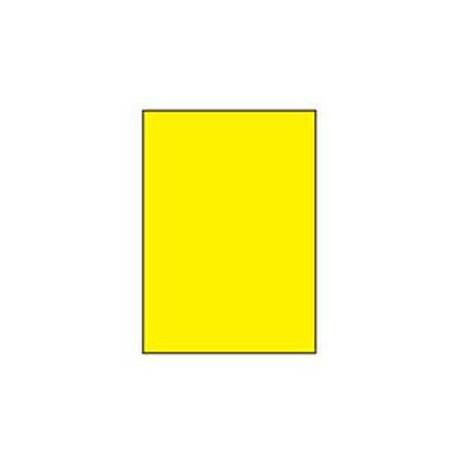 Etikety farebné 210x297mm APLI A4 100 hárkov žlté