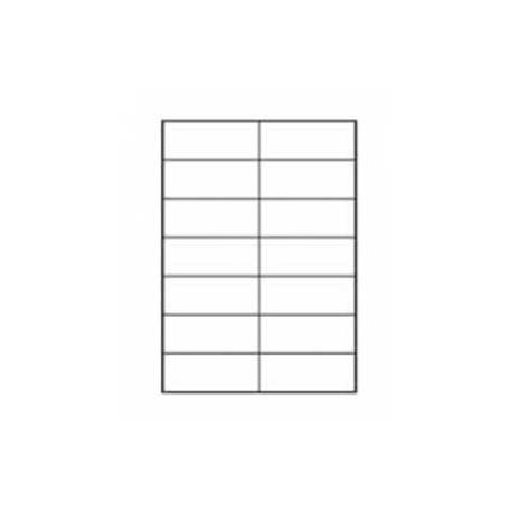 Etikety univerzálne 105x42,4mm Etibox A4 100 hárkov