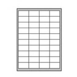 Etikety univerzálne odnímateľné 48,5x25,4mm Agipa A4 100 hárkov