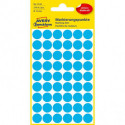 Etikety kruhové 12mm Avery modré