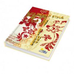 Záznamová kniha A5 150 listov linajková
