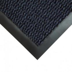 Rohož Vyna-Plush 90x120cm čierna/modrá