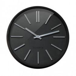 Nástenné hodiny Goma 35cm čierne