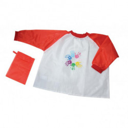 Detská maliarska zástera Donau, červené rukávy