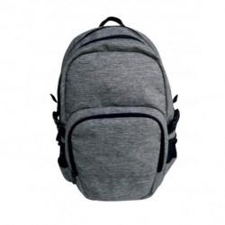 Školský ruksak Uni pre tínedžerov sivý