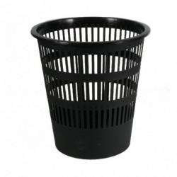 Kôš plastový rebrovaný 12l čierny