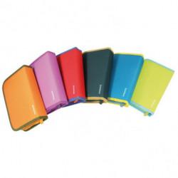 Peračník Donau 1-zipsový 2-klopý mix farieb