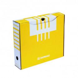 Archívny box DONAU 80mm žltý