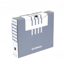 Archívny box DONAU 80mm sivý