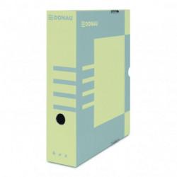 Archívny box DONAU 80mm hnedý