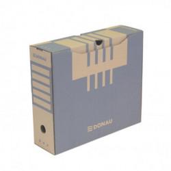 Archívny box DONAU 100mm hnedý
