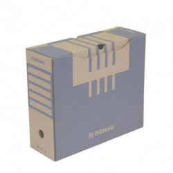 Archívny box DONAU 120mm hnedý