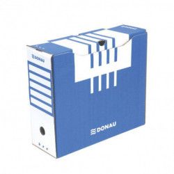 Archívny box DONAU 120mm modrý