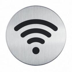 Piktogram WiFi kruhový