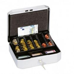 Euro-pokladnička DURABLE EUROBOXX S 283x100x225mm strieborná