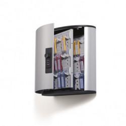 Skrinka na 36 klúčov so zámkom na kód DURABLE KEY BOX CODE 36 strieborná
