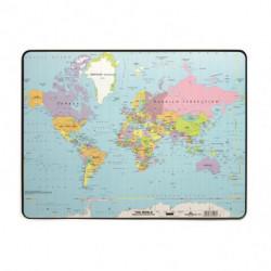 Podložka na stôl s mapou sveta 40x53cm