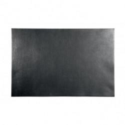 Podložka na stôl DURABLE 45x65cm kožená čierna