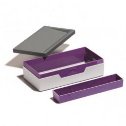 Prenosný box VARICOLOR fialový