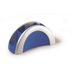 Stojan na perá VEGAS strieborný/modrý