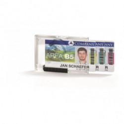 Puzdro na 3 karty DURABLE PUSHBOX TRIO 10ks