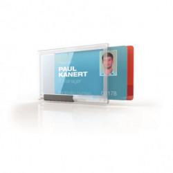 Puzdro na 2 karty DURABLE PUSHBOX DUO 10ks