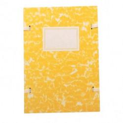 Spisové dosky A4 mramor žltý