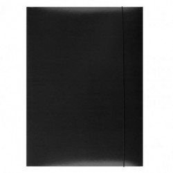 Kartónový obal s gumičkou Office Products čierny