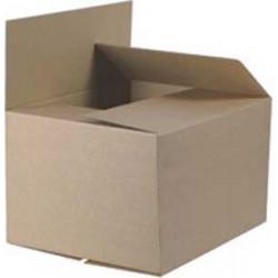 Škatuľa s klopou hnedá 400x320x250 mm