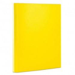 Kartónový box so suchým zipom 40mm Office products žltý
