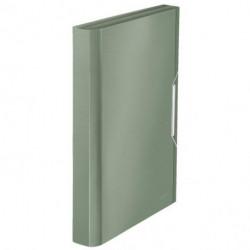 Aktovka plastová s priehradkami Leitz Style zelenkavá