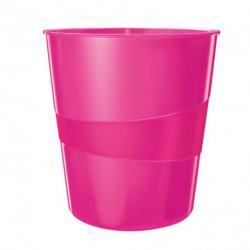 Kôš plastový Leitz WOW 15l ružový