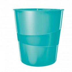 Kôš plastový Leitz WOW 15l ľadovo modrý