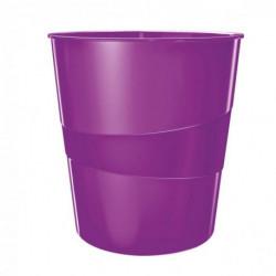 Kôš plastový Leitz WOW 15l purpurový