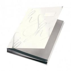 Podpisová kniha designová Leitz biela