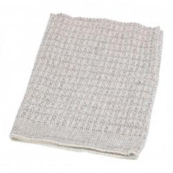 Handra na podlahu tkaná biela Cedric 65x50cm
