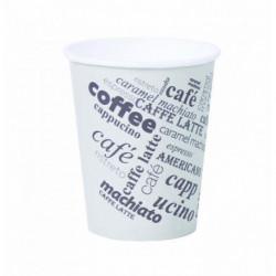 Papierový pohár 0,2l _Coffee to go_ s motívom 50ks