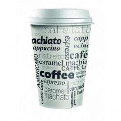 Plastové viečko biele 62 mm _Coffee to go_ 100ks