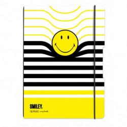 Zošit Herlitz my.book Flex Smiley World Pásiky A4 2x40listov linajkový štvorčekový PP