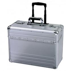 Pilotný kufor hliníkový OMEGA ALUMAXX strieborný
