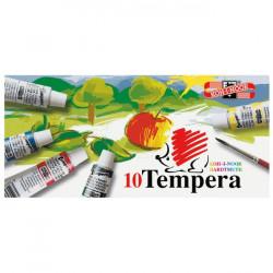 Temperové farby 16ml 10 farieb