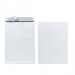 Poštové obálky C5 Herlitz s odtrhávacou páskou, biele, 10 ks