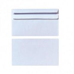 Poštové obálky DL Herlitz samolepiace s vnútornou potlačou, biele, 100 ks