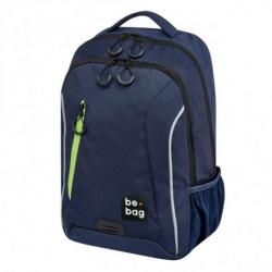 Tínedžerský batoh be.bag 28x19x43 objem 18l modrý