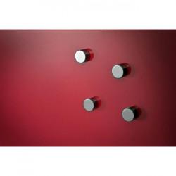 Tabuľa GLASSBOARD 90x120cm červená